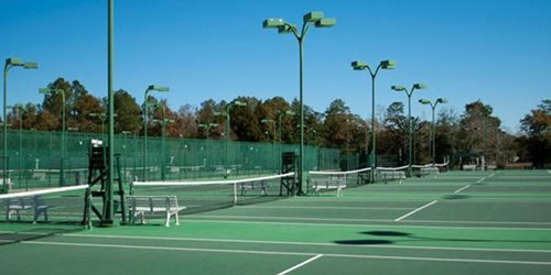The world's largest public tennis facility - Copeland/Cox Mobile Tennis Center